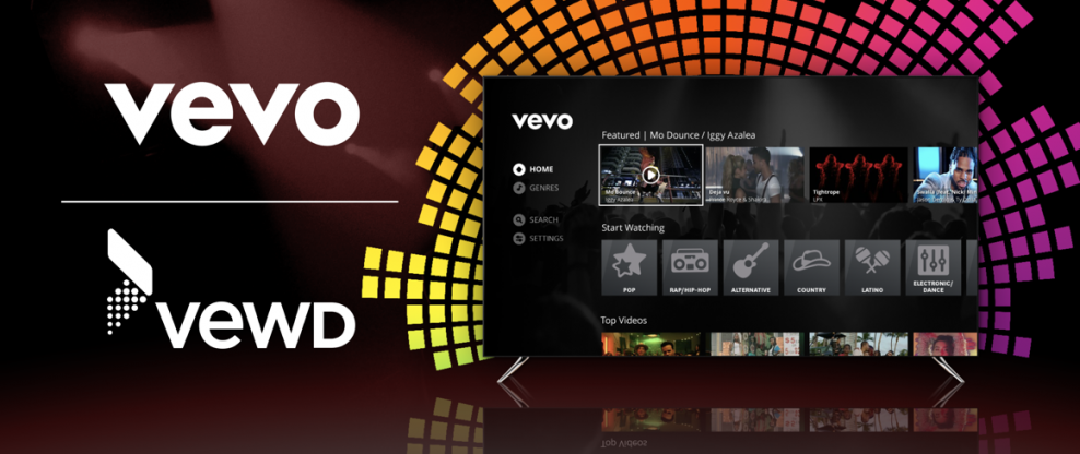 Vevo Inks New Deal With Smart TV OTT Software Provider Vewd