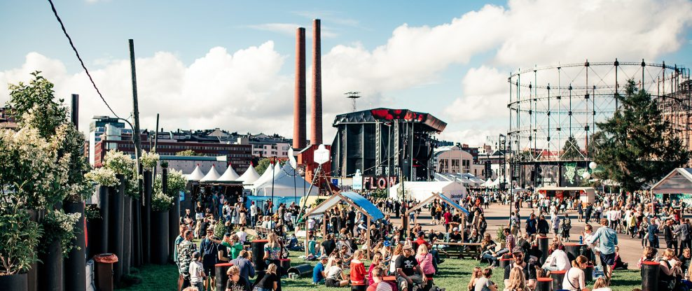 Flow Festival Invites Artists To Take a Stand For The Environment With New Sustainability Rider