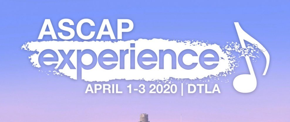 The ASCAP Experience Joins The List Of Coronavirus Cancellations