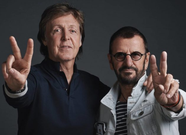"Paul McCartney and Ringo Starr to Reunite For Cover of John Lennon's ""Grow Old With Me"""
