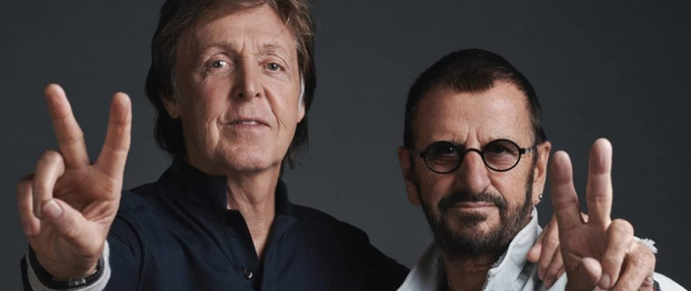 """Paul McCartney and Ringo Starr to Reunite For Cover of John Lennon's """"Grow Old With Me"""""""