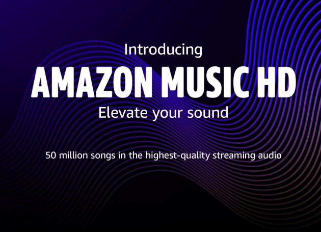 Amazon Launches Hi-Def Music Streaming Service, Amazon Music HD