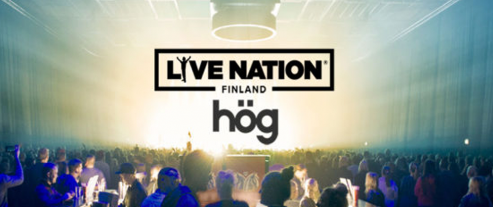 Live Nation Finland Acquires Hög Agency