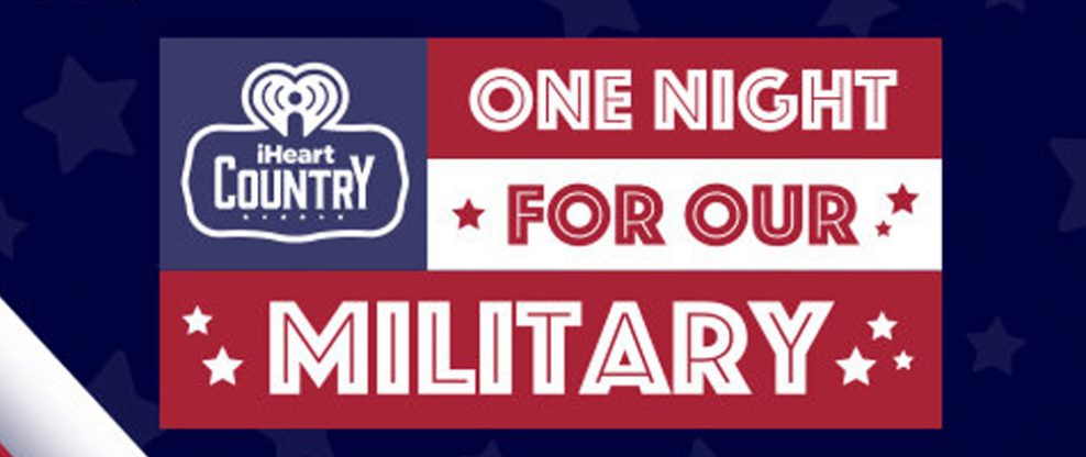 Roche and iHeartMedia Partner For 'iHeartCountry One Night For Our Military' Benefit Concert