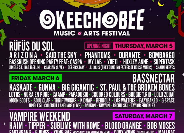 Florida's Okeechobee Music and Arts Festival Announces 2020 Lineup