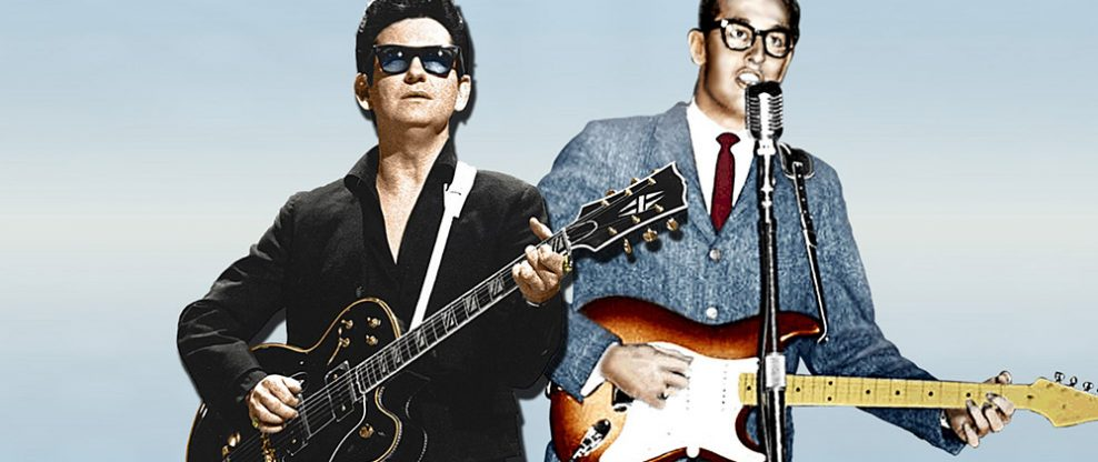 Holograms of Roy Orbison & Buddy Holly