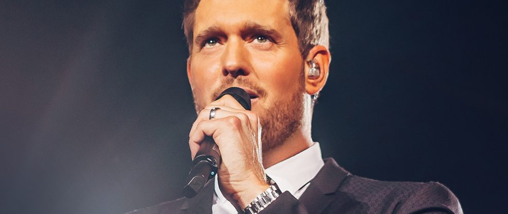 Michael Bublé Joins The O2's 21 Club