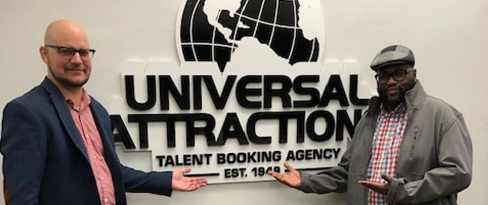 Producer JD Lawrence Signs With Universal Attractions Agency