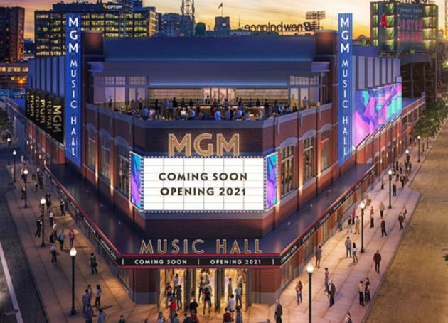 "Fenway Sports Group Real Estate To Host Groundbreaking Ceremony For ""MGM Music Hall At Fenway"""