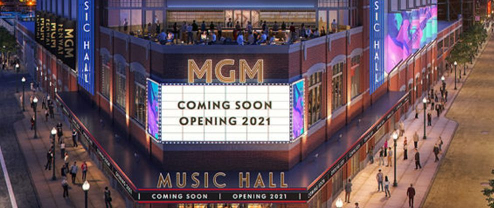 """Fenway Sports Group Real Estate To Host Groundbreaking Ceremony For """"MGM Music Hall At Fenway"""""""