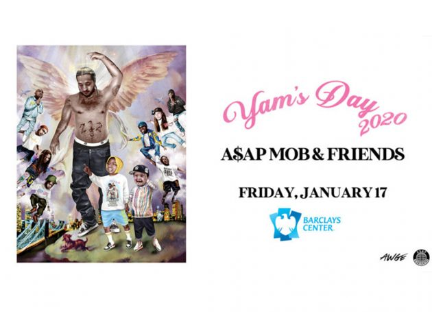 A$AP Mob Announces Yam's Day 2020