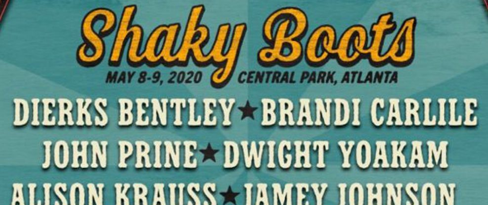 Brandi Carlile And Dierks Bentley To Headline Shaky Boots Music Festival 2020