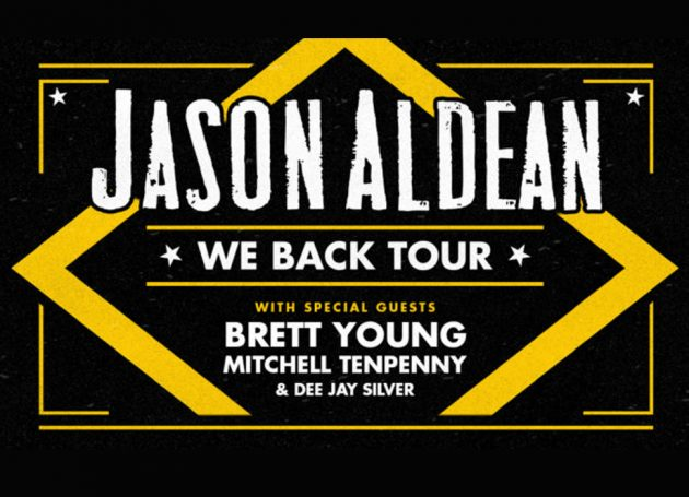 Jason Aldean Extends 2020 We Back Tour As Second Leg Rolls Through The Summer