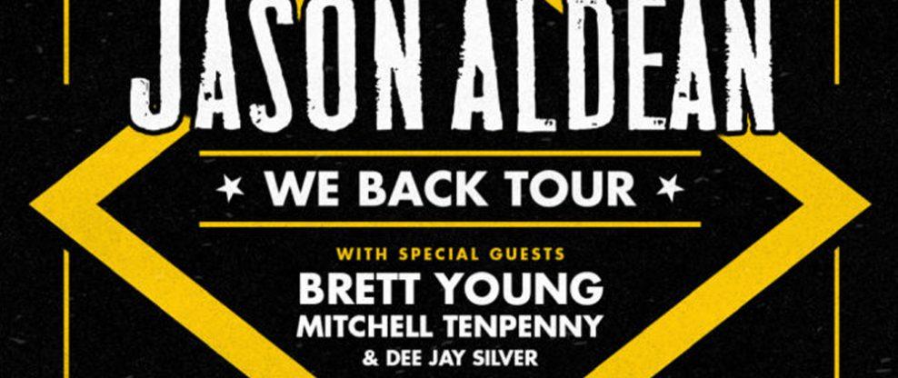 Jason Aldean Extends 2020 We Back Tour As Second Leg Rolls Through The Summer