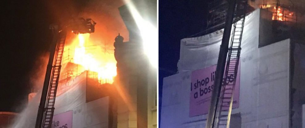 London's Iconic KOKO Club Goes Up In Flames
