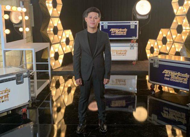 Singer Stuns 'America's Got Talent' With Celine Dion & Andrea Bocelli Duet