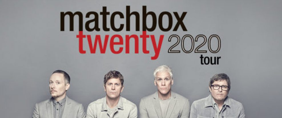Matchbox Twenty Announces 2020 Summer Tour With The Wallflowers