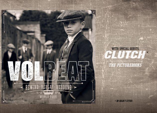 Volbeat Announce 15 U.S. Headline Dates On The 'Rewind, Replay, Rebound World Tour'