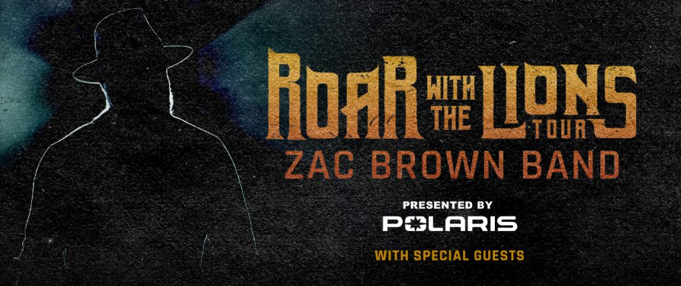 "Zac Brown Band Announces Summer 2020 ""Roar With The Lions Tour"""