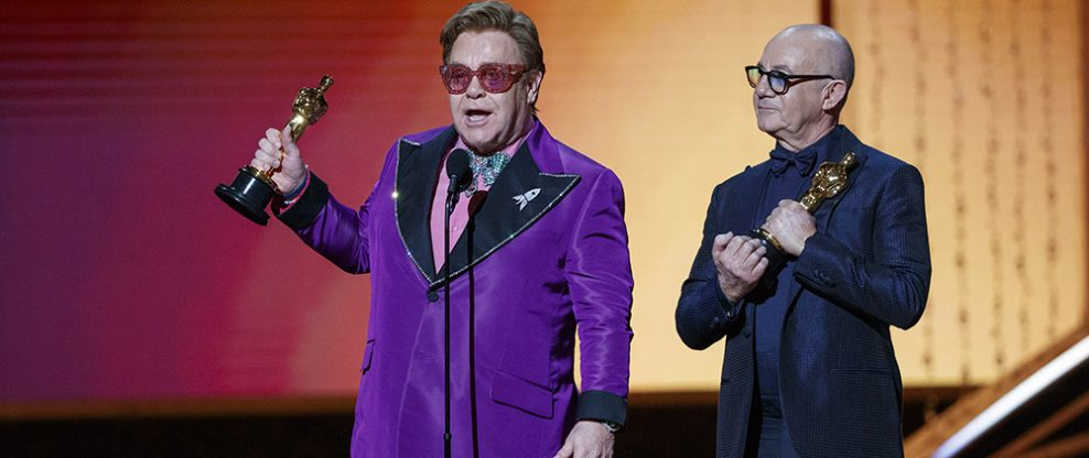 Elton at the Oscars
