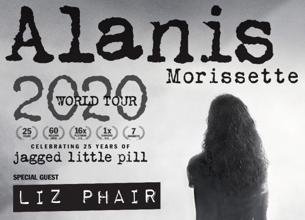 Alanis Morissette Announces 2020 European Tour