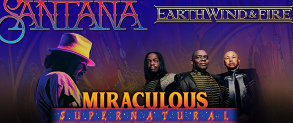 Carlos Santana And Earth, Wind & Fire Announce 'The Miraculous Supernatural 2020 Tour'