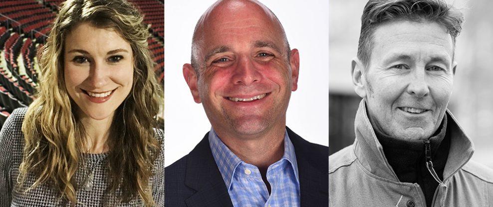 Eric Bresler, Tom Conroy, & Rosemary Selle