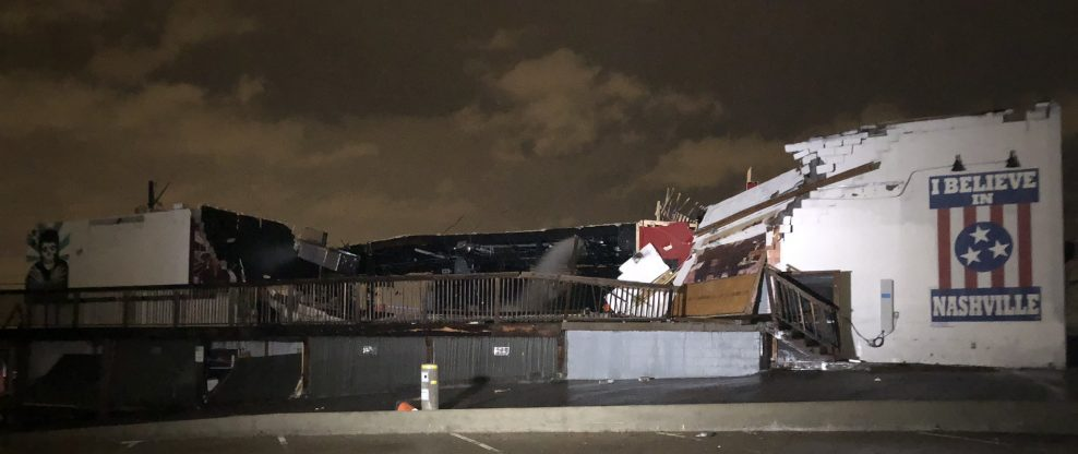 Deadly Tornado Rips Through Tennessee, Destroys 40 Buildings Including Popular Music Venue The Basement East
