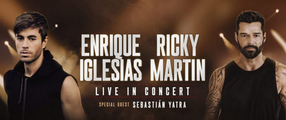 Enrique Iglesias And Ricky Martin Announce First Ever Co-Headlining Tour Of North America
