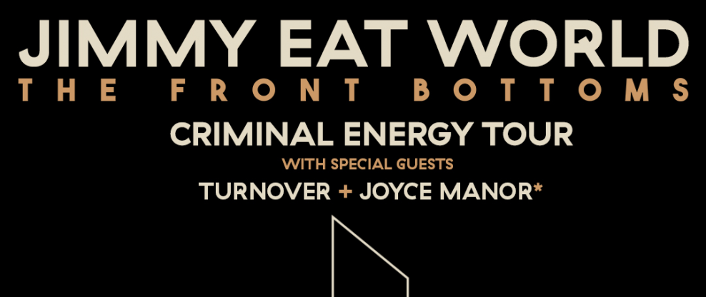 Jimmy Eat World Announce Criminal Energy Tour