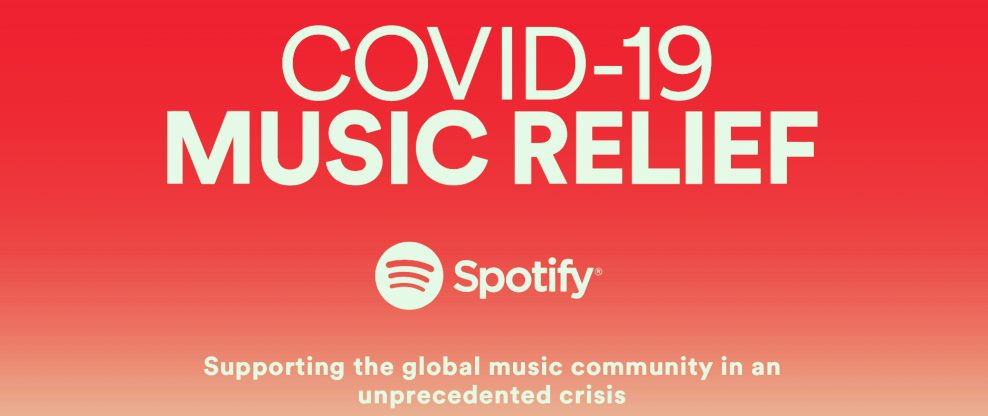 Spotify COVID-19 Music Relief Project Adds Music Health Alliance As Partner
