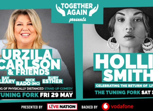 Live Nation Announces 'Together Again' Concert And Comedy Series, Backed By Vodafone