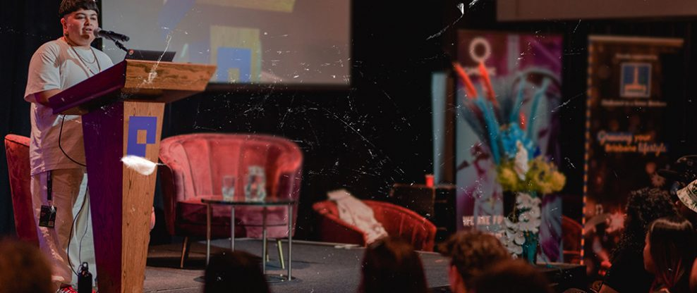 Keynote speaker Mo'Ju at BIGSOUND in 2019