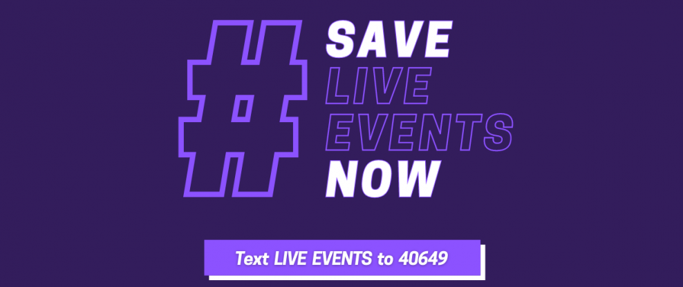 Save Our Live Events