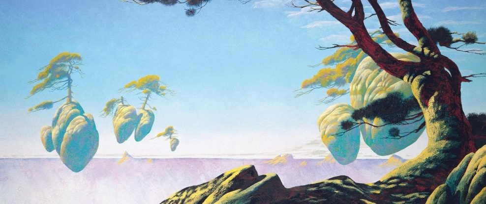 """Floating Islands"" by Roger Dean"