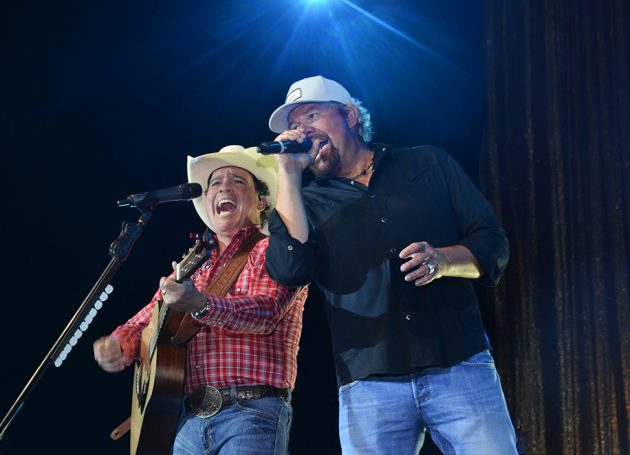 Clay Walker and Toby Keith