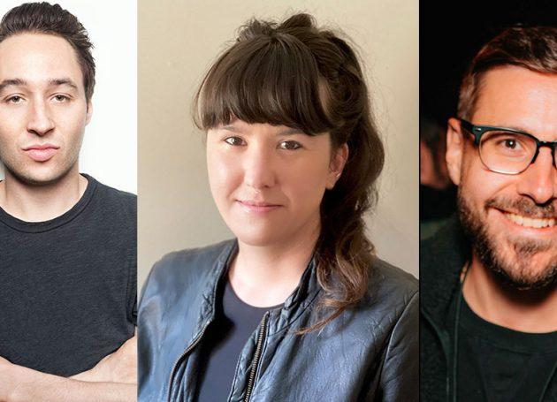 Matt Galle, Rachel Pestik, and Mike Marquis