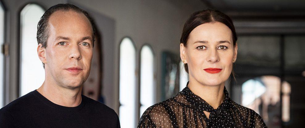 Fabian Drebe and Doreen Schimk